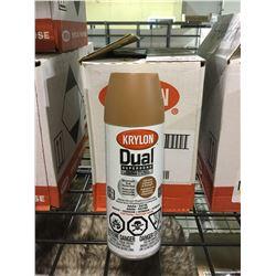 Case of Krylon Superbond Paint and Primer Aerosol Spray (6 x 340g)