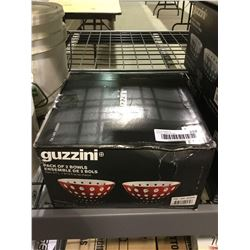 Guzzini Pack of 2 Bowls - Red
