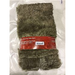 """Home Accents Holiday 60"""" Faux Fur Tree Skirt"""
