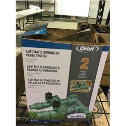 Orbit Automatic Sprinkler Valve System