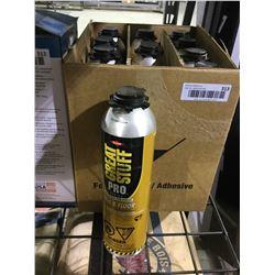 Case of Great Stuff Pro Polyurethane Foam Adhesive (10 x 751g)