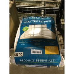 Bedding Essentials Queen Size Mattress Pad