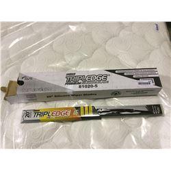 """Case of Triple Edge 20"""" Silicone Wiper Blades"""