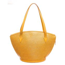 Louis Vuitton Yellow Epi Leather St Jacques GM Shoulder Bag