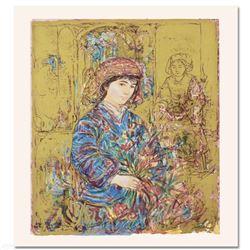 Umbria's Garden by Hibel (1917-2014)