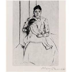 Mary Cassatt - Peace