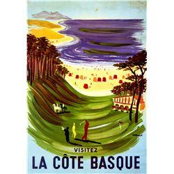 Bernard Villemot - La Cote Basque