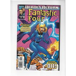 Heroes Return Fantastic Four Issue #2 by Marvel Comics