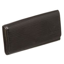 Louis Vuitton Black Epi Leather 4 Key Holder