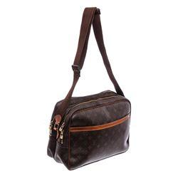 Louis Vuitton Monogram Canvas Leather Reporter GM Bag