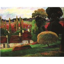 Paul Gauguin Farm In Brittany