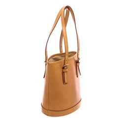 Louis Vuitton Natural Beige Leather Petit Bucket PM Bag