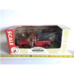 FIRE CHIEF 1953 F-100 DIE CAST TOW TRUCK - GEARBOX BANK
