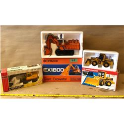 2 X DIE-CAST CONSTRUCTION VEHICLES - AS NEW