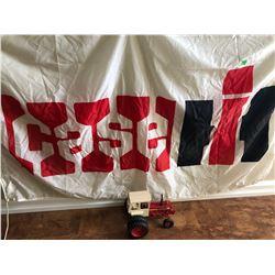 CASE IH FLAG & INTERNATIONAL TURBO 1256 DIE-CAST TRACTOR