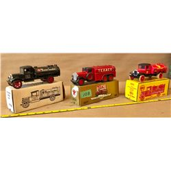 3 X DIE-CAST BANKS