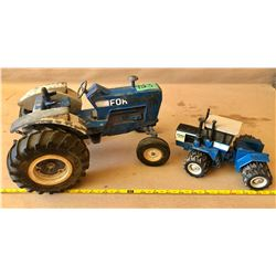 2 X FORD DIE-CAST TRACTORS