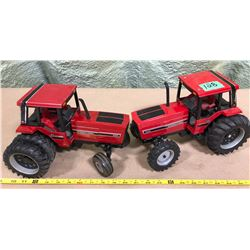 2 X INTERNATIONAL DIE CAST TRACTORS - ERTL
