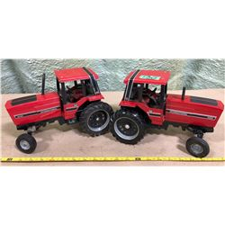 2 X INTERNATIONAL DIE-CAST TRACTORS - ERTL