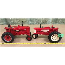 FARMALL SUPER M-TA & 350 MODEL DIE-CAST TRACTORS - ERTL