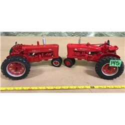 FARMALL 400 & SUPER M-TA MODEL DIE-CAST TRACTORS - ERTL