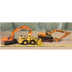 DIE-CAST CONSTRUCTION VEHICLES