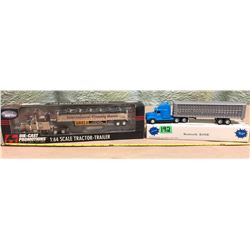 2 X DIE-CAST TRACTOR TRAILERS