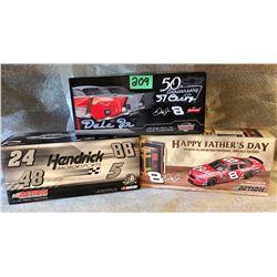 3 X DALE EARNHARDT JR MODEL STOCK CARS