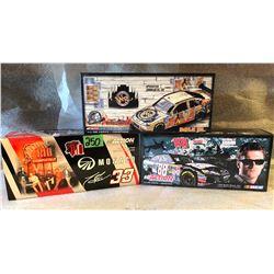 3 X DALE EARNHARDT JR / TONY STEWART MODEL STOCK CARS