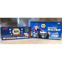 2 X MICHAEL WALTRIP MODEL STOCK CARS