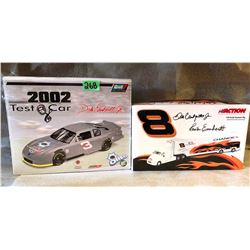 3 X DALE EARNHARDT JR MODEL TEST CAR & RIG