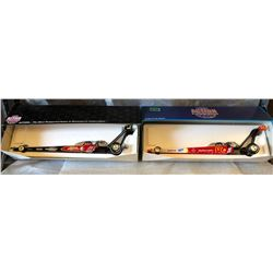 2 X TOP FUEL DRAGSTERS