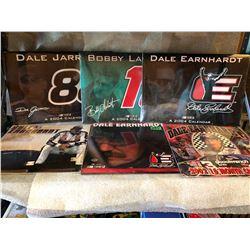 6 X NASCAR CALENDARS - AS NEW