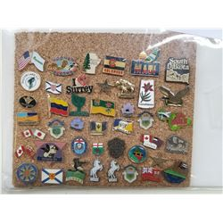 50 HIGHLY COLLECTIBLE TOURIST DESTINATION PINS