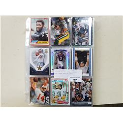 APPROX 300 NFL STAR, ROOKIE, AND OTHER SPECIAL CARDS