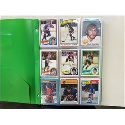 300 VINTAGE 70S AND 80S HOCKEY CARDS