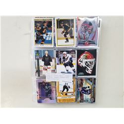 OVER 350 HOCKEY CARDS - STARS, ROOKIES, INSERTS, APPROX BOOK VALUE $1000-1300