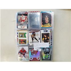 400 HOCKEY SUPERSTAR, ROOKIE, AND INSERT CARDS - APPROX BOOK VALUE $1400