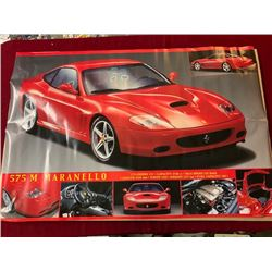 4 BRAND NEW 24 X 36 INCH SEALED FERRARI MARANELLO POSTERS