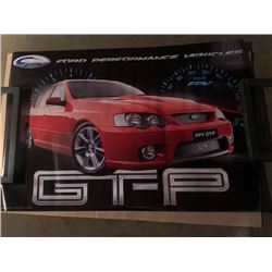6 NEW NISSAN AND FORD PERFORMANCE VEHICLE POSTERS 24 X 36 INCH