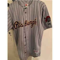 NEW PITTSBURGH PIRATES RAWLINGS AUTHENTIC VINTAGE JERSEY MLB RETAIL $275