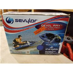 SEVYLOR DEVIL RAY 1 PERSON TOWABLE INFLATEABLE