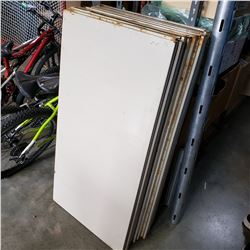 20 METAL SHELVES 2FT BY 4FT
