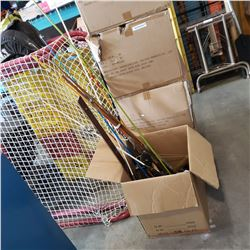 BUNDLE OF FISHING RODS AND REELS