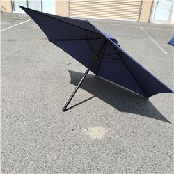 7FT PATIO BLUE UMBRELLA