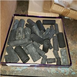 TRAY OF BLACK WESTWARD SOCKETS