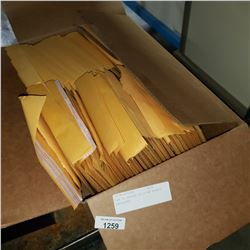 BOX OF APPROX 50 ULINE BUBBLE ENVELOPES