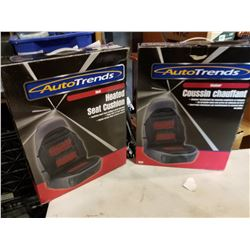 2 AUTO TRENDS HEATED SEAT CUSIONS