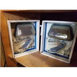 PAIR OF TRUCK AND VAN MIRRORS