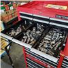 Image 5 : CRAFTSMAN 2 PIECE ROLLING TOOL CHEST FULL OF TOOLS